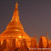 Shwedagon Pagoda at Night - Rangoon, Burma (Yangon, Myanmar)