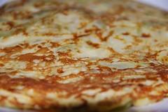 pizza cheese(0.0), pizza(0.0), produce(0.0), potato pancake(0.0), tortilla de patatas(0.0), meal(1.0), breakfast(1.0), italian food(1.0), food(1.0), dish(1.0), cuisine(1.0), pancake(1.0),