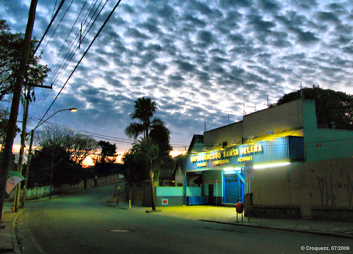 street clouds sunrise portoalegre