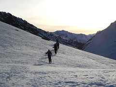 Ski de randonnée dans l'Oisan