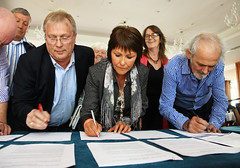 Survivors sign submission to NI Executive Taskforce May 13 2011