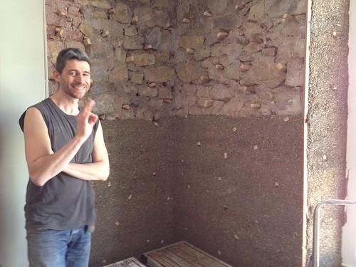 Hemp and Lime: internal wall insulation Hygroscopic reservoir