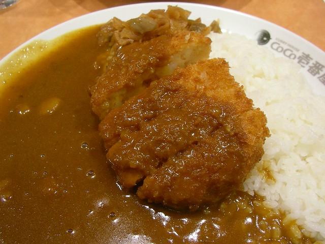 curry rice @ cocoichi 海鮮カツカレー(CoCo壱番屋)