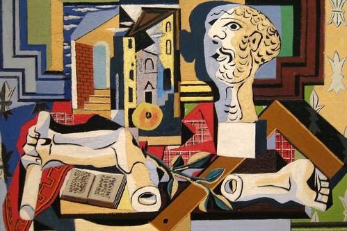 NYC - MoMA: Pablo Picasso's Studio with Plaster Head
