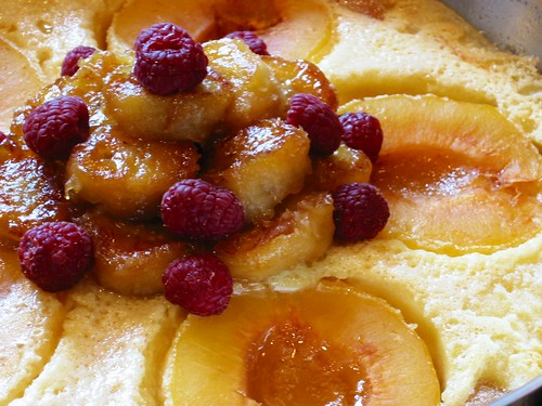 Apricot & Caramelized Banana Clafoutis (large)