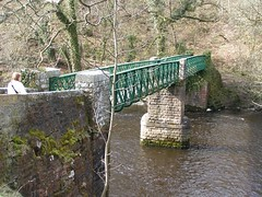 Footbridge over the Tees