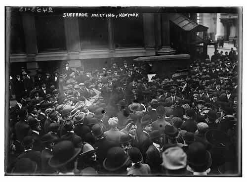 Suffrage meeting, New York  (LOC)