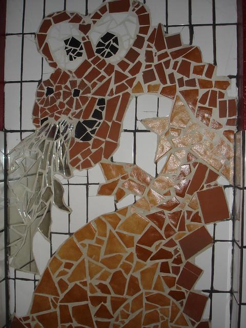 Broken Tiles Mirror Mosaic Flickr Photo Sharing