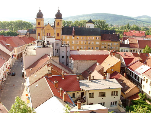 trencin view