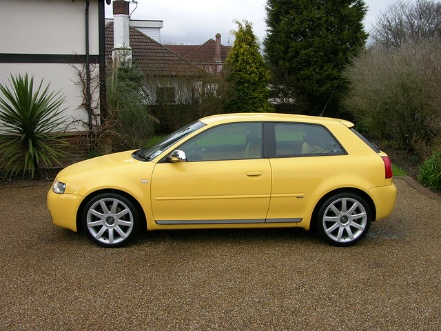 Audi S3 2002 Imola Yellow Flickr Photo Sharing