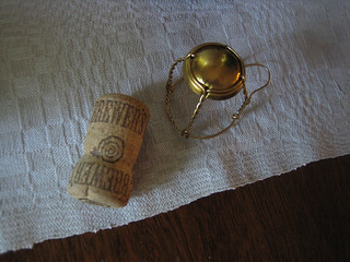Beer Bottle Cork & Cage