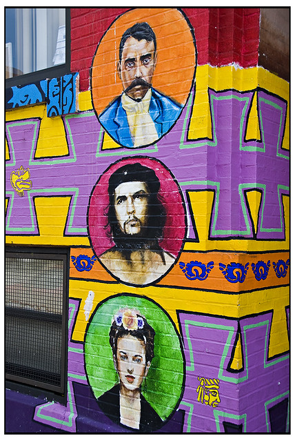 Detail at Casa Aztlan Community Center
