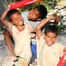 Kids playing around in Timor, Indonesia.