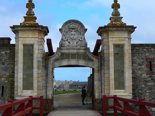 Louisbourg gates