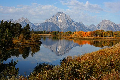 Mt. Moran - Reflecting