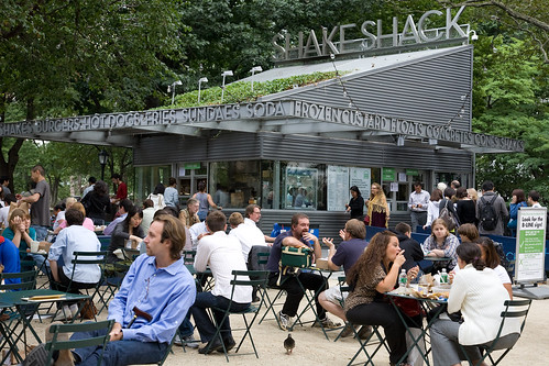 Shake Shack A Unique Hamburger Joint In The Heart Of Nyc