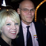 Me and James Carville.