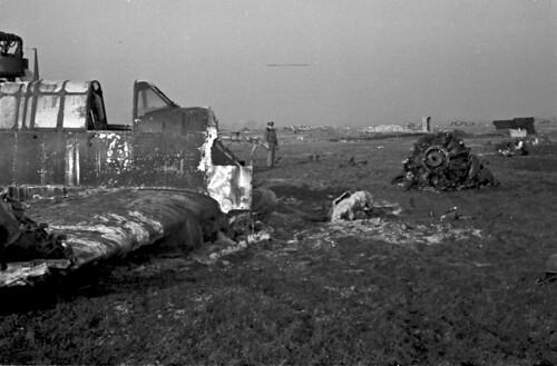 Crashed A35