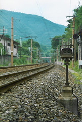 Railway Crossing, Arashiyama