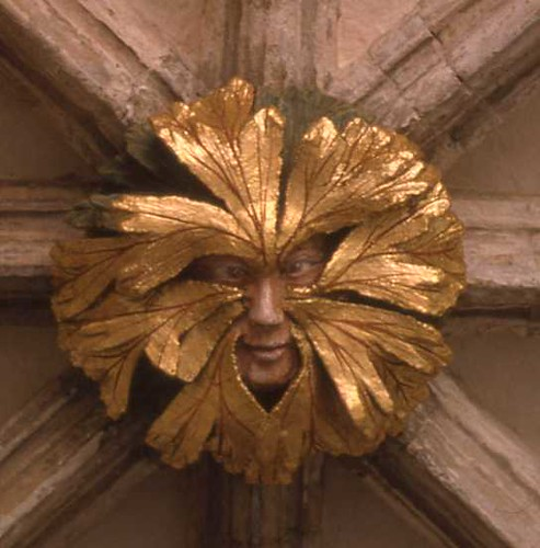 The Green Man at Norwich Cathedral