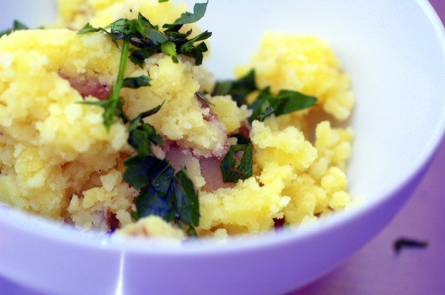 olive oil mashed potatoes | Flickr - Photo Sharing!