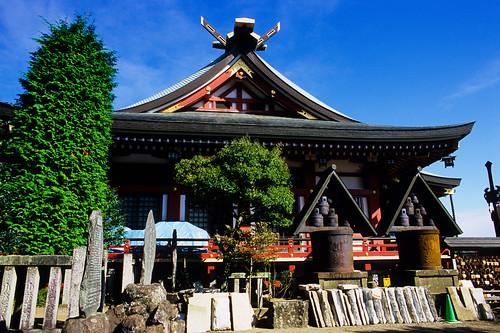 阿夫利神社,大山国定公園,日本