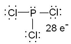 Pcl3 Electron Dot Structure