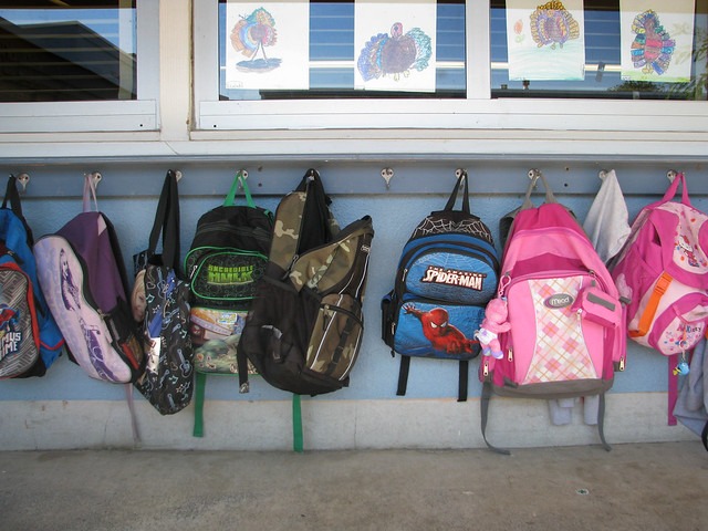 Elementary School Backpacks