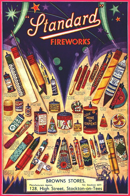 Old Standard Fireworks Poster Epic Fireworks Blog