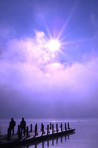 light people cloud sun moon lake water sunrise nikon d70 taiwan 南投 romantic 台灣 2009 光 埔里 日月潭 sunmoonlake 湖 日出 曙光 水社碼頭 中台灣 魚池鄉 水波 光之浪漫