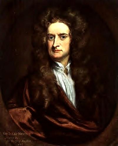 Kneller, Godfrey (1646-1723) - 1702 Sir Isaac Newton