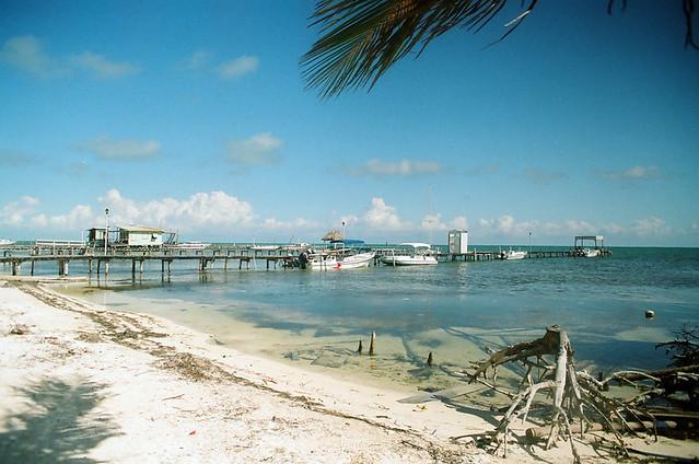 Caye Caulker island beach