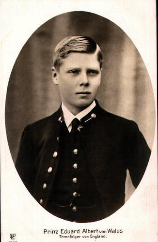 The Prince of Wales, Edward future King Edward VIII. of Britain