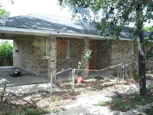 New Orleans Louisiana Hurricane Katrina Aftermath of Homes ...