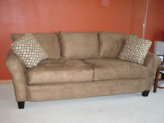 furniture, loveseat, sofa bed, living room, couch, studio couch,