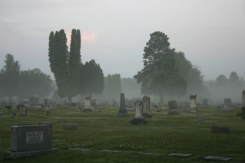 trip morning mist home cemetery misty fog sunrise michigan foggy visit rosehill rosehillcemetery berriensprings southwesternmichigan