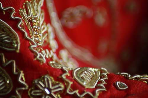 Wedding designs Saree Lehnga