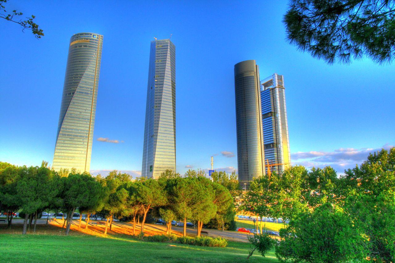 Las cuatro torres, Madrid, España