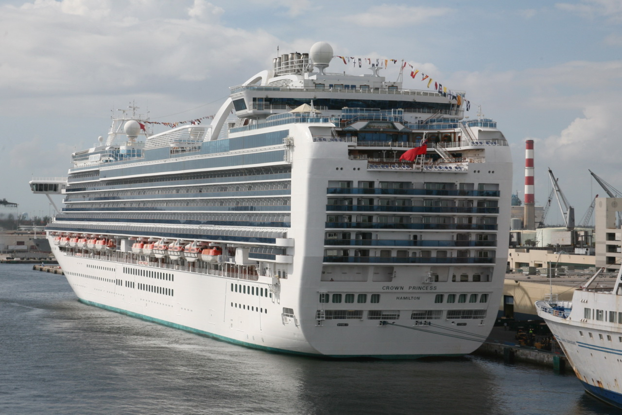 Crown Princess Passenger Cruise Ship A Photo On
