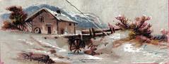 Old Mill Scene