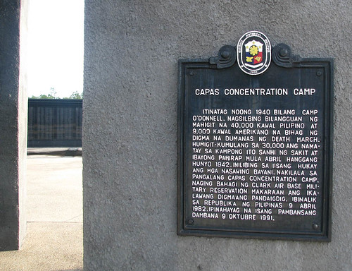 Capas Death March Monument