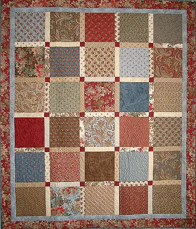 THE LAYER CAKE QUILT Pattern