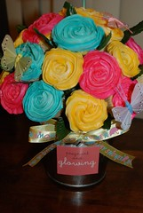 babyshower bouquet