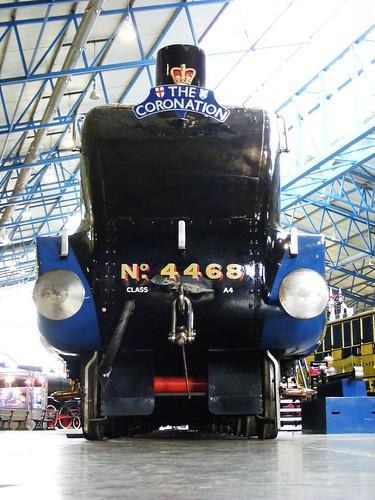 railway museum York Mallard