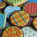 Patterned Cookie Collection