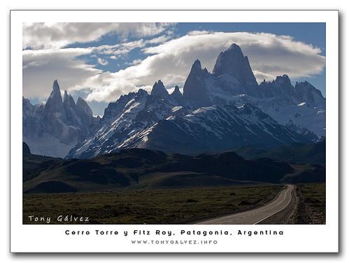 Cerro Torre & Fitz Roy, Patagonia