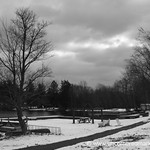 Winter at Chapman Lake - Scranton, Pennsylvania