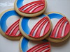 Barack Obama Inauguration Logo Cookies by Whipped Bakeshop