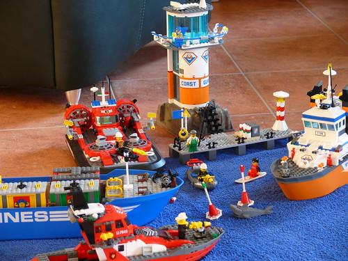 LEGO Flotte