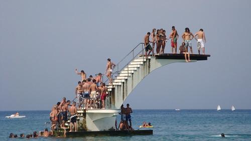 Elly Beach from Rhodes island,Greece